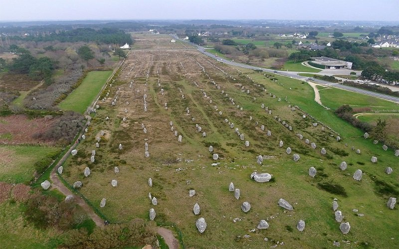 Las piedras de Carnac