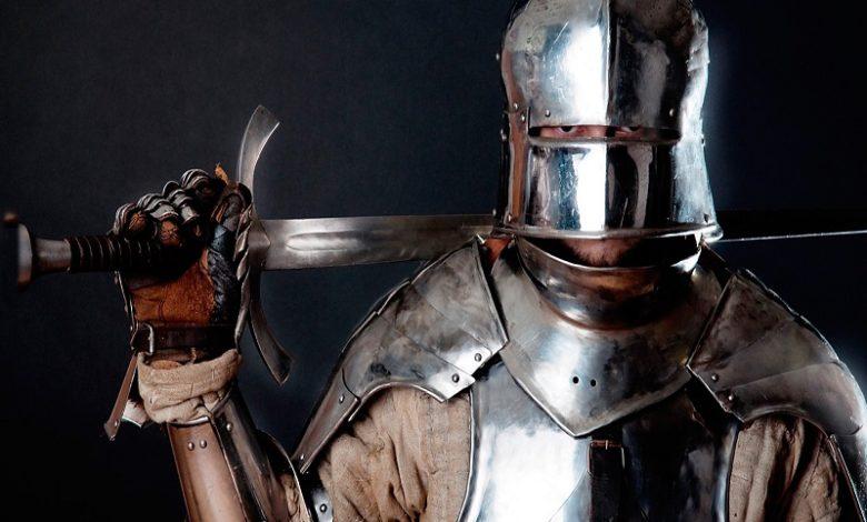Armaduras medievales Partes de una armadura medieval