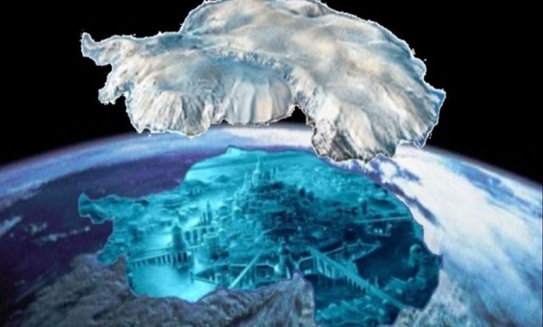 La Atlántida se encuentra en la Antártida