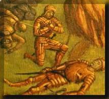 Quienes eran los escuderos y qué función cumplían