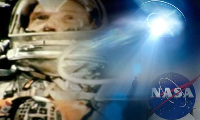 El asombro de un astronauta de la NASA cuando ve ovnis que rodean su cápsula