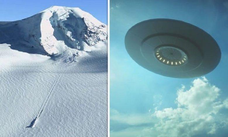 OVNI choca contra la Antártida