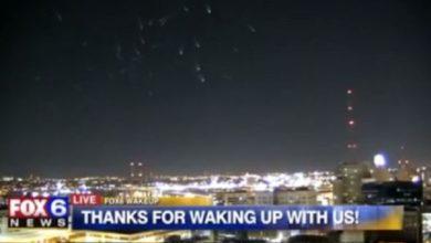 flota captada por Fox 6 News