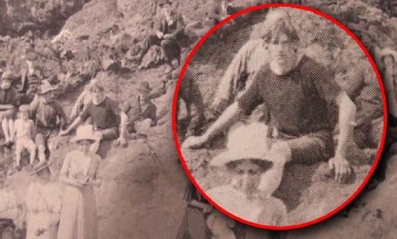 Esta foto de 1917 prueba que el viaje en el tiempo es posible