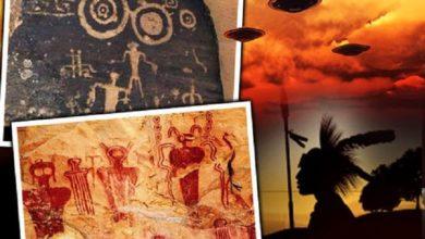Photo of ¿Los Extraterrestres y ovnis encontrados en las pinturas rupestres de los indios apaches prueban que los antiguos alienígenas visitaron la Tierra?