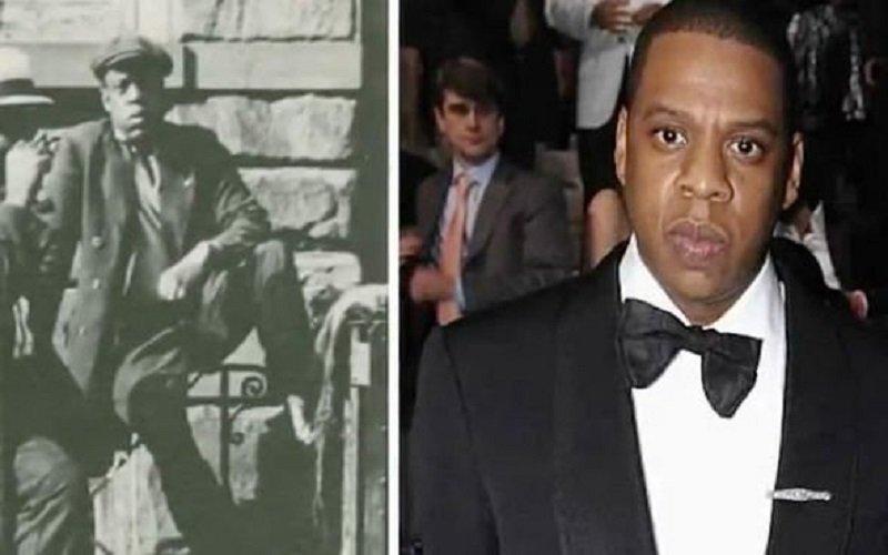 Jay - Z fotografiado en 1939 en Harlem