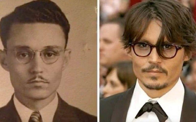 Johnny Depp parece el bisabuelo de alguien