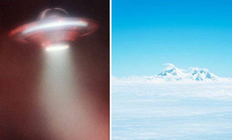 Misterioso objeto visto en la Antártida