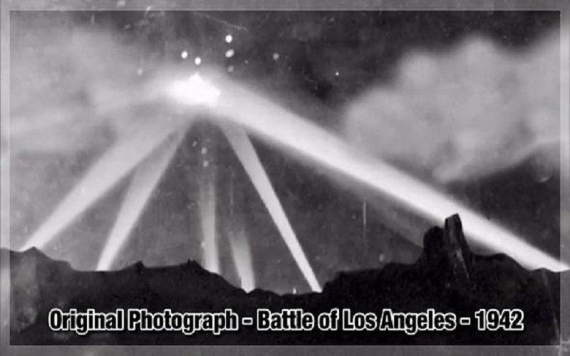 En 1941 el ejército de los EE.UU le disparó a un ovni que sobrevolaba Los Ángeles y dejó 5 muertos