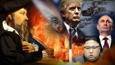 Photo of Las predicciones de Nostradamus para el 2018: La Tercera Guerra Mundial y el desastre, pero los sobrevivientes podrían vivir hasta 200 años