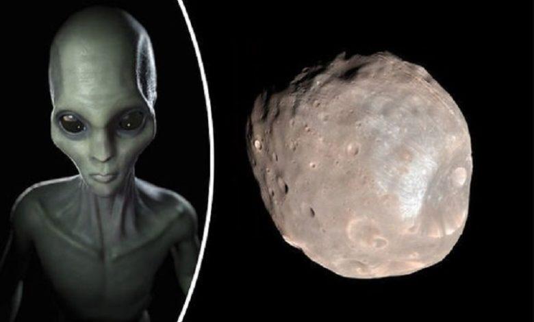 Phobos la Luna de Marte Es una base alienígena