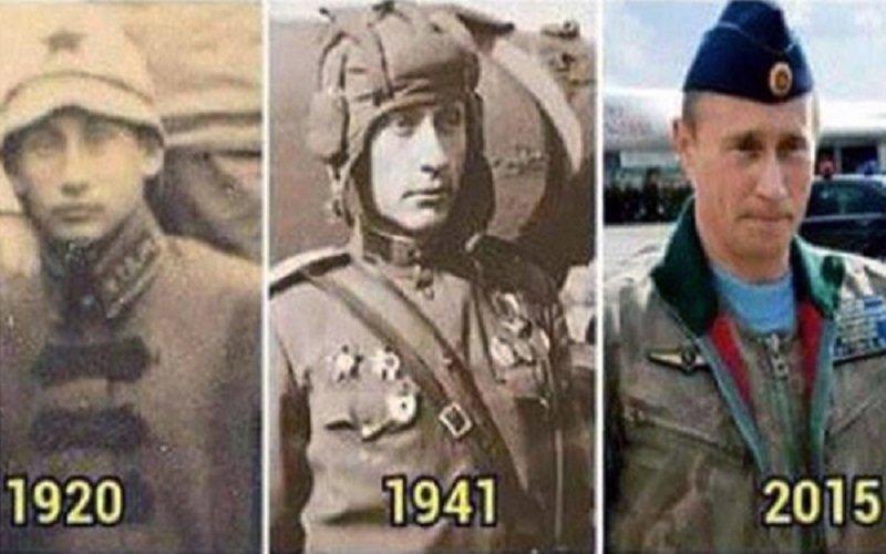 como Vladimir Putin puede viajar en el tiempo