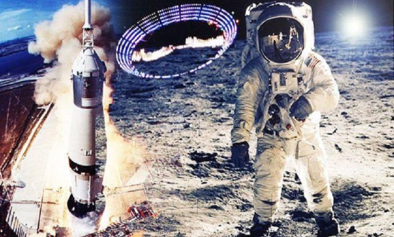 Actividad alienígena vista durante la misión Apolo 11