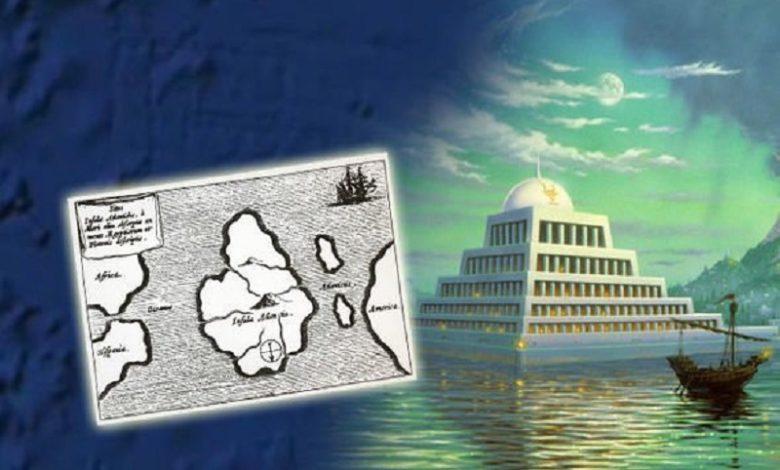 Google Earth Estructura misteriosa vista en el océano