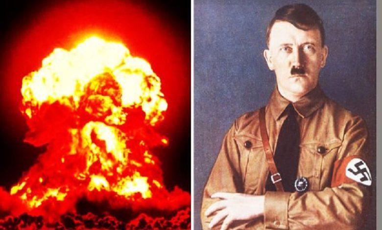 Hitler había creado una bomba atómica que podía ser llevada por un platillo volador