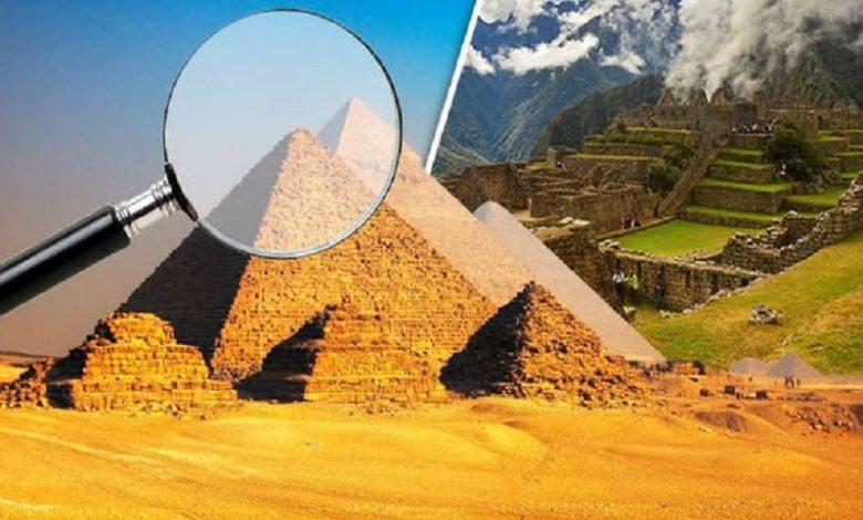 Los antiguos egipcios no construyeron las pirámides