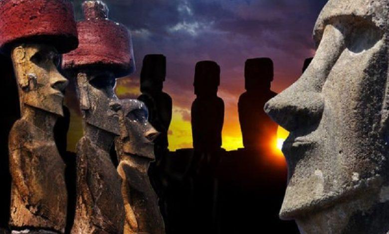 las estatuas de la Isla de Pascua