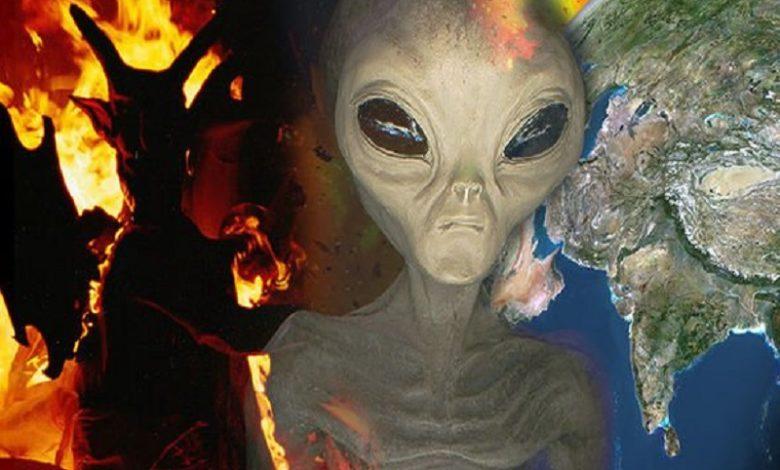 Según un grupo de cristianos, están llegando los alienígenas enviados por el Diablo
