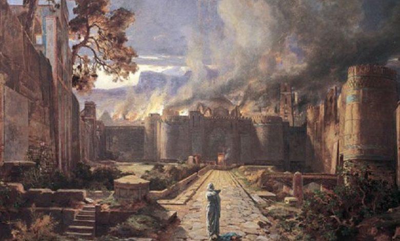 Arqueólogos encuentran la ciudad bíblica de Sodoma destruida por Dios