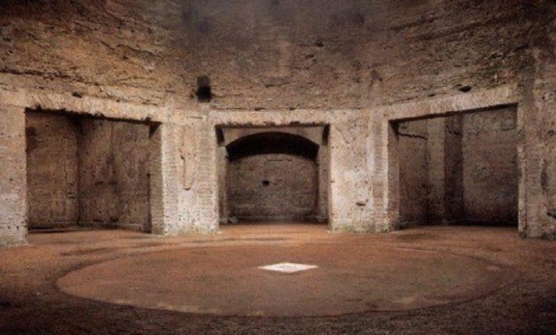 La sala giratoria del Emperador Nerón