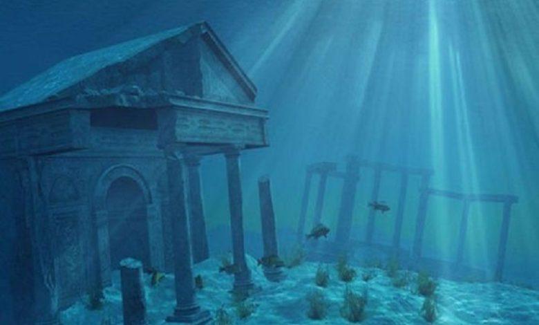la Atlantis fue destruida por un enorme tsunami