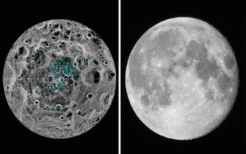 Photo of Encontraron capas de hielo en los polos de la Luna