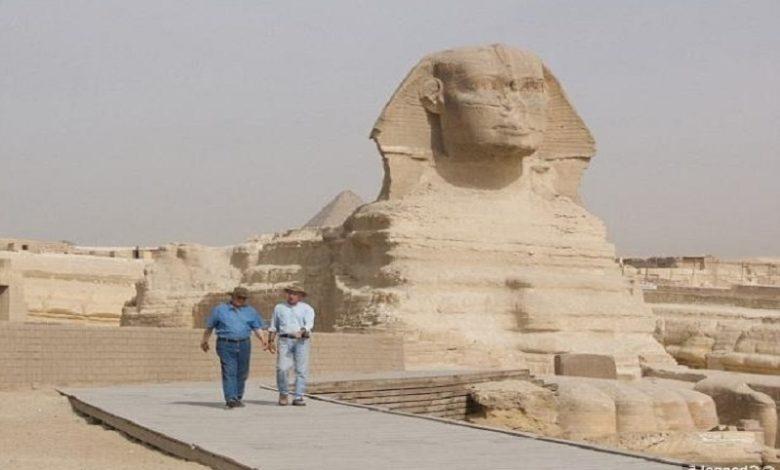 segunda esfinge de Egipto