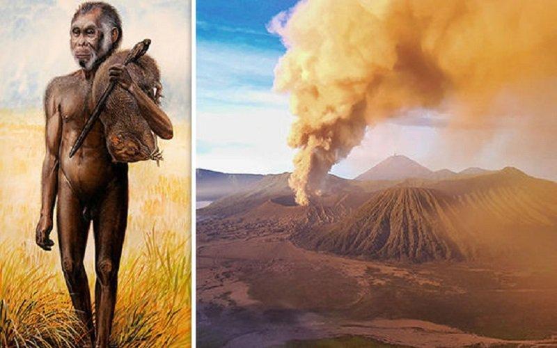 Photo of Seres humanos de un metro de altura aniquilados por este volcán masivo