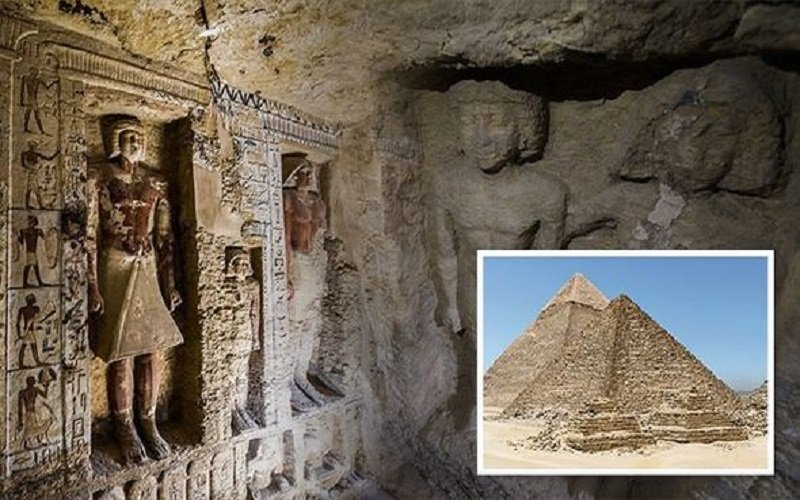 Photo of Egipto ha revelado una tumba única que data de la quinta dinastía