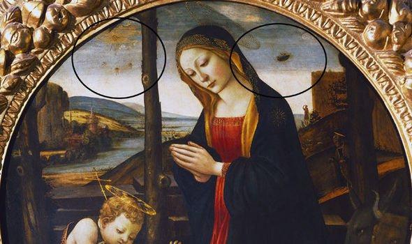 pintura que data del siglo XV podría ser la prueba de que los alienígenas 1
