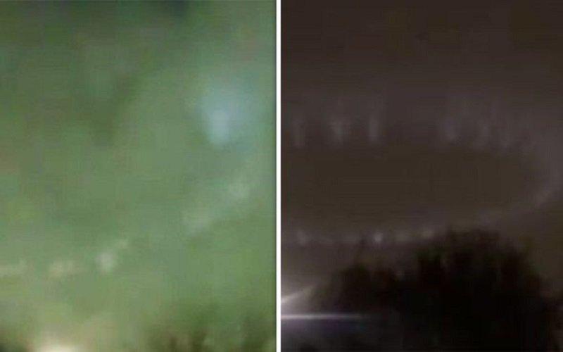 Photo of ¿Avistamiento OVNI en Londres? Misteriosas luces giratorias hacen que los londinenses entren en pánico