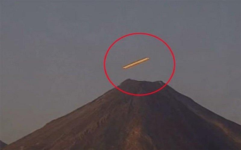 Photo of Ovni visto en el volcán Popo de México