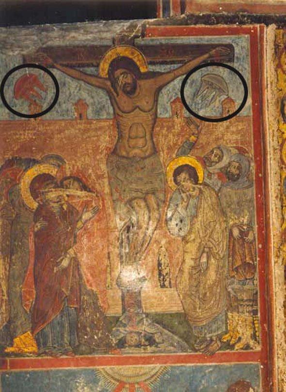 retrato de Cristo del siglo XI