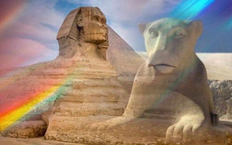 Photo of La Esfinge de Giza «puede haber tenido cara de león»