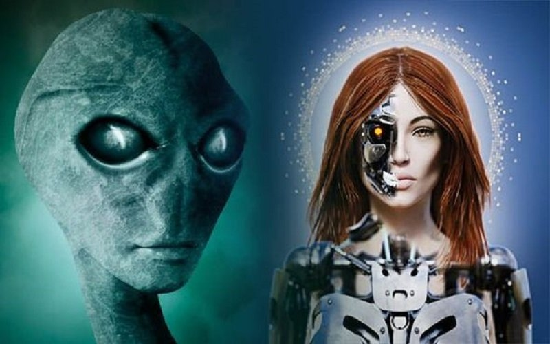 extraterrestres CYBORG