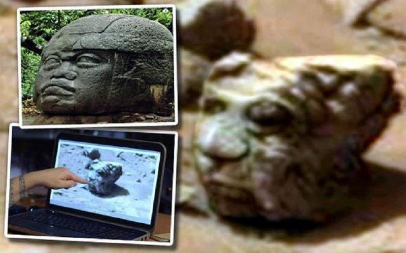 Photo of ¿La foto de la NASA de la «estatua de un Alien» prueba la actividad de los OVNIs en el Planeta Rojo?
