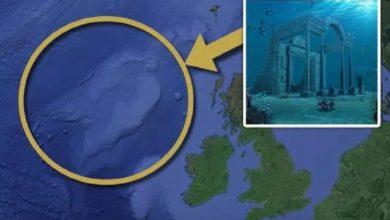 Atlantis descubierta cerca de gran bretaña