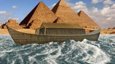 Photo of Un escaneo al pergamino del Mar Muerto sugiere que el Arca de Noé era la Gran Pirámide de Giza