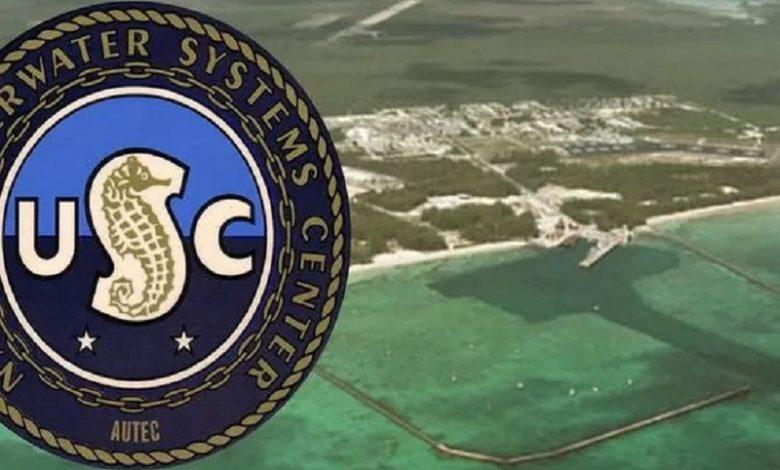 El Área 51 subacuática Extraña base submarina de EE