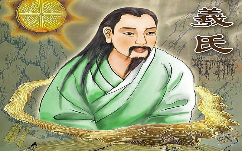 dioses chinos - Fuxi - El Dios del conocimiento