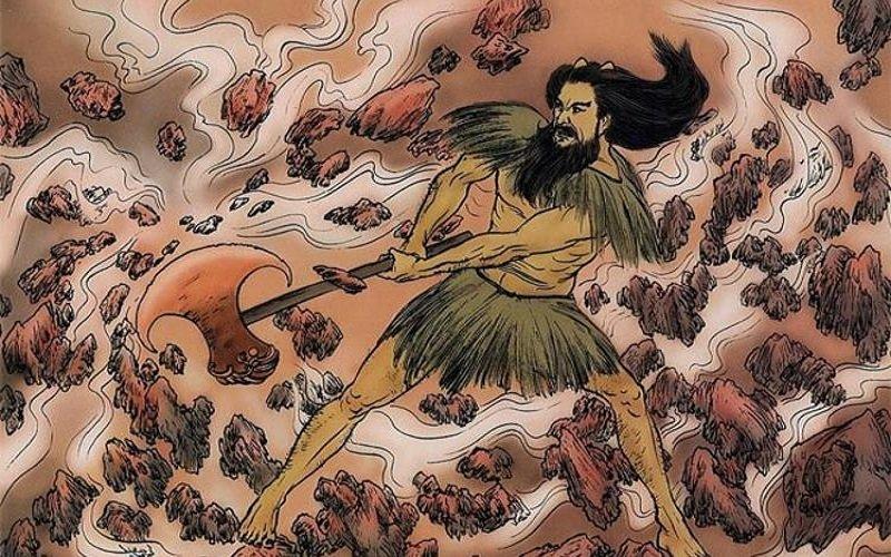 dioses chinos - Pan Gu - El Dios de la Creación