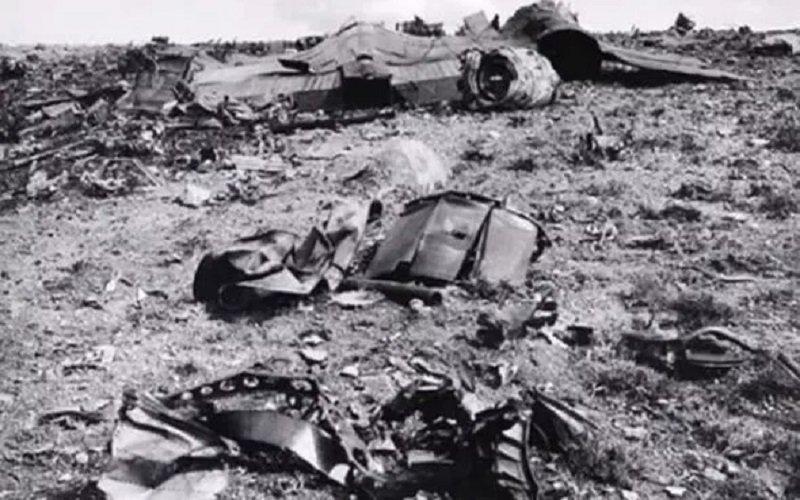 ¿Las fotos de la NASA de los restos de un avión en Marte son idénticas a las del accidente de Roswell? 1