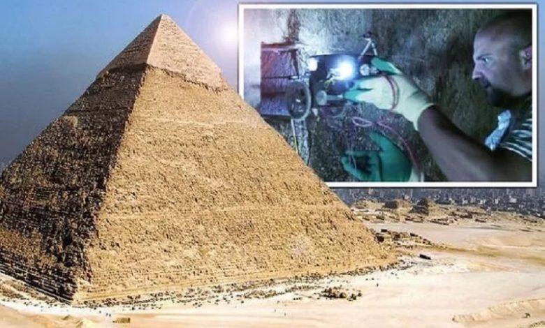 La Gran Pirámide de Giza expuesta en un nuevo documental histórico
