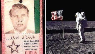 La mente maestra nazi detrás del Apolo 11