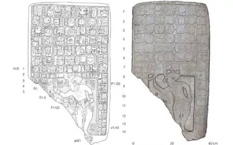tablas antiguas mayas