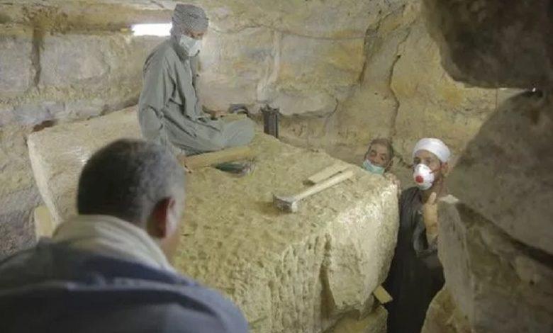 El Reino de las Momias Antigua funeraria descubierta cerca de las pirámides egipcias