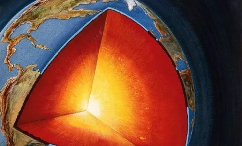 Hallan Misteriosas estructuras sólidas cerca del núcleo de la Tierra