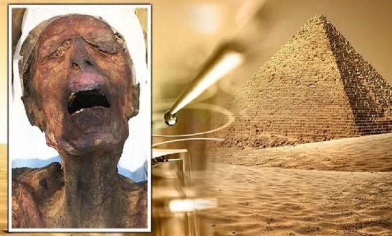 La momia gritona Pariente directo de Ramsés III