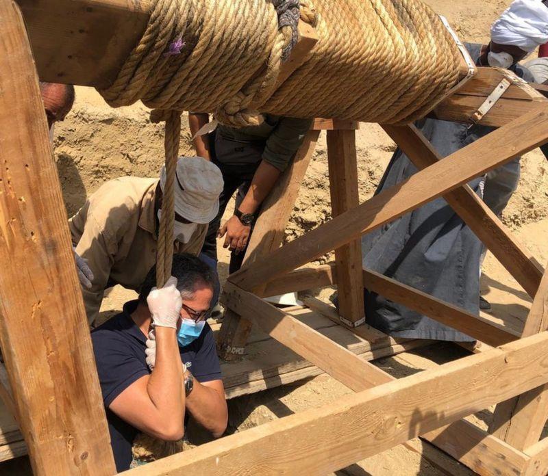 Egipto: Descubren 27 sarcófagos de más de 2.500 años de antigüedad 1