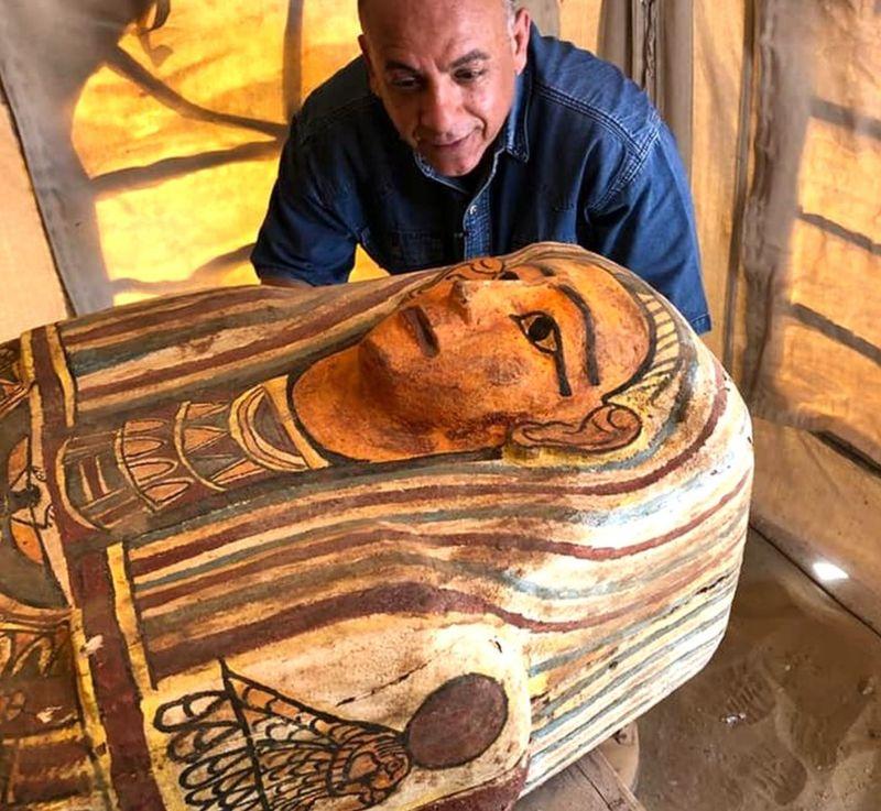 Egipto: Descubren 27 sarcófagos de más de 2.500 años de antigüedad 2